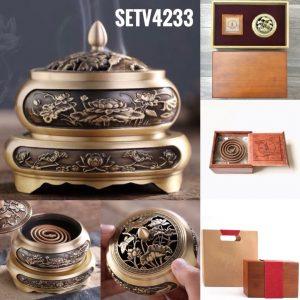 Bộ trầm hương vòng SETV4233